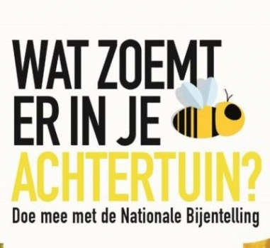 Nationale Bijentelling 13-14 april