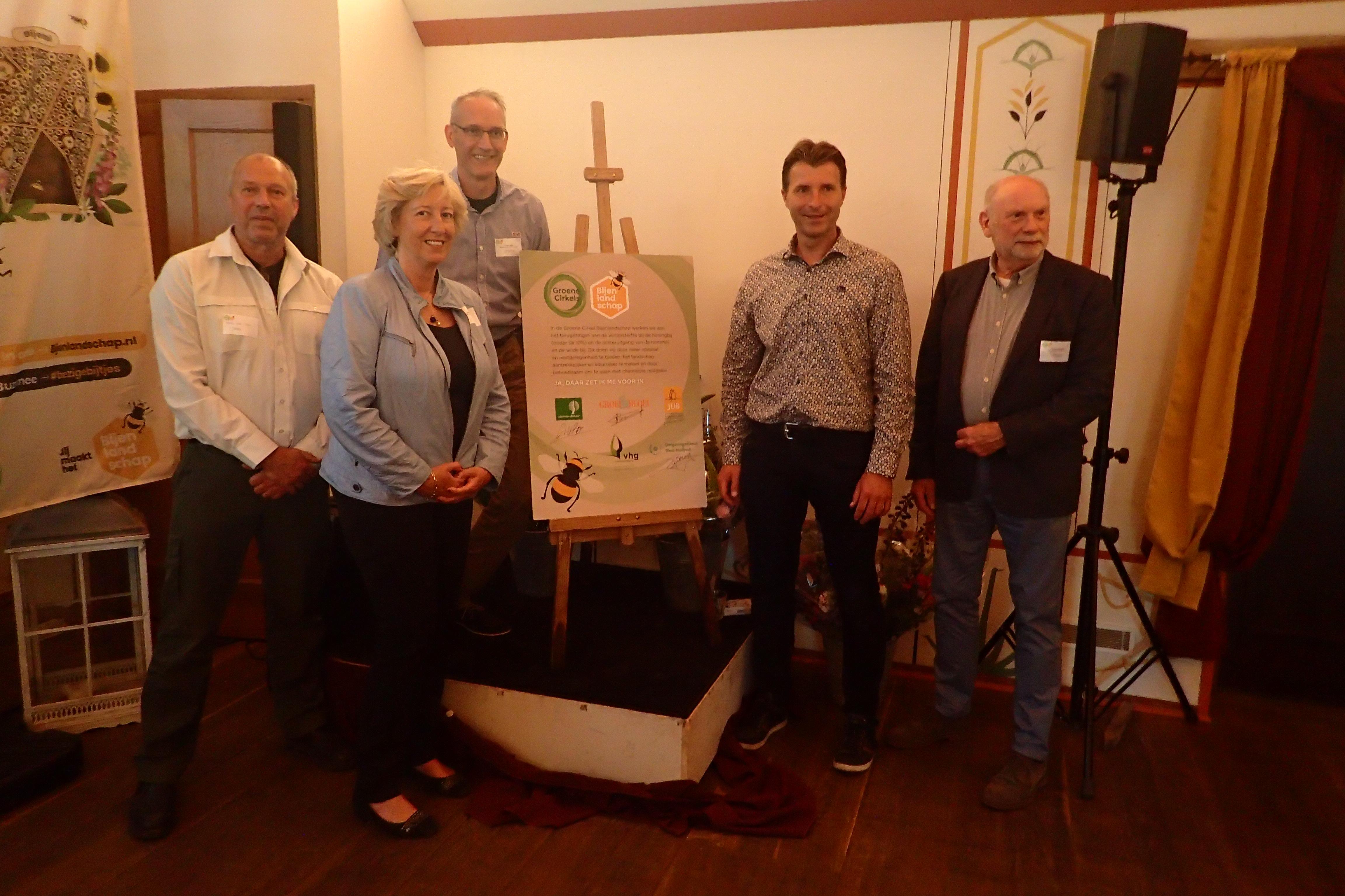 Vijf nieuwe partners aangesloten bij Groene Cirkel Bijenlandschap
