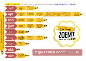 Regio Leiden Zoemt Agenda 2018-1