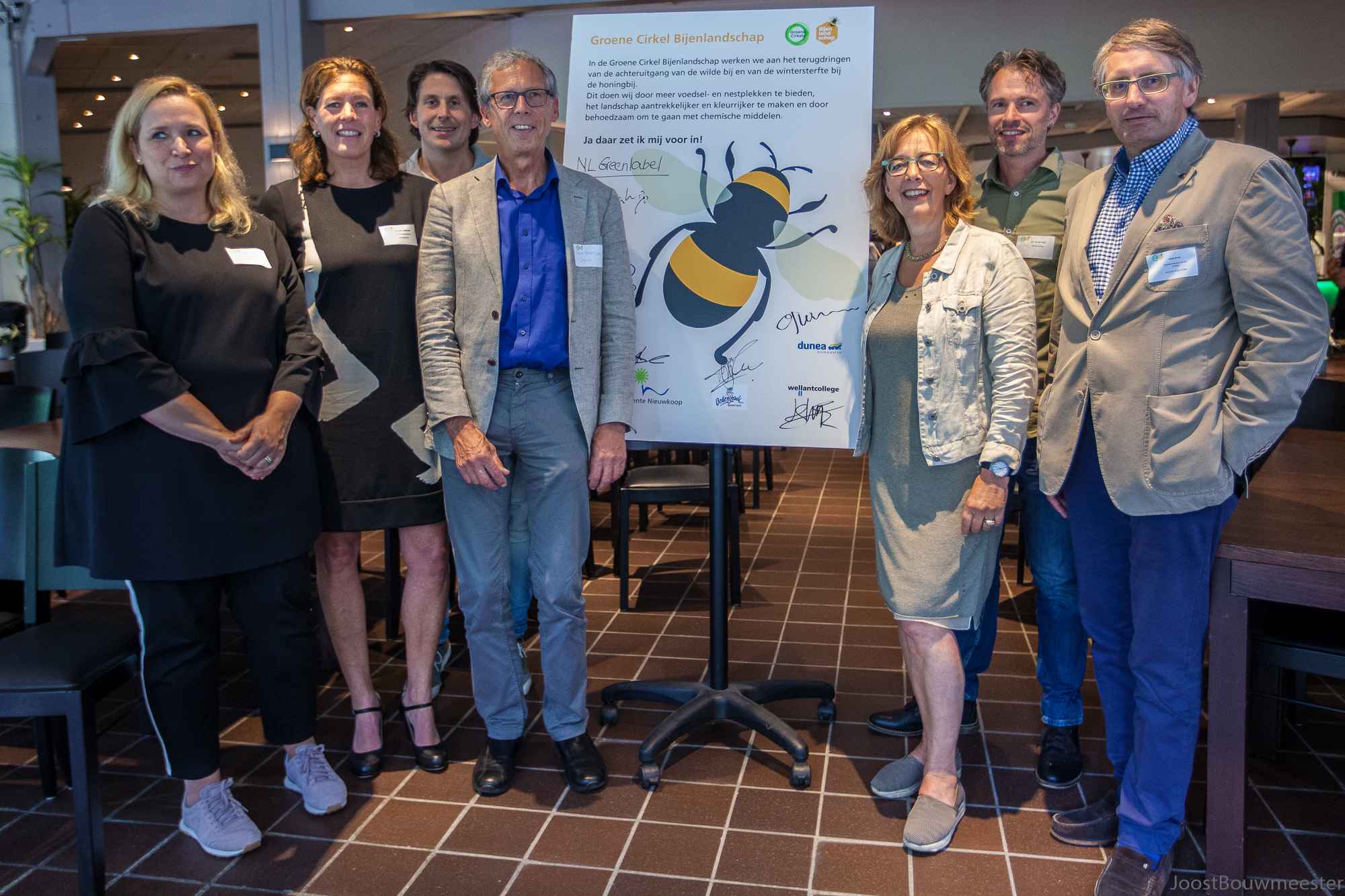 Zeven nieuwe partners voor Groene Cirkel Bijenlandschap