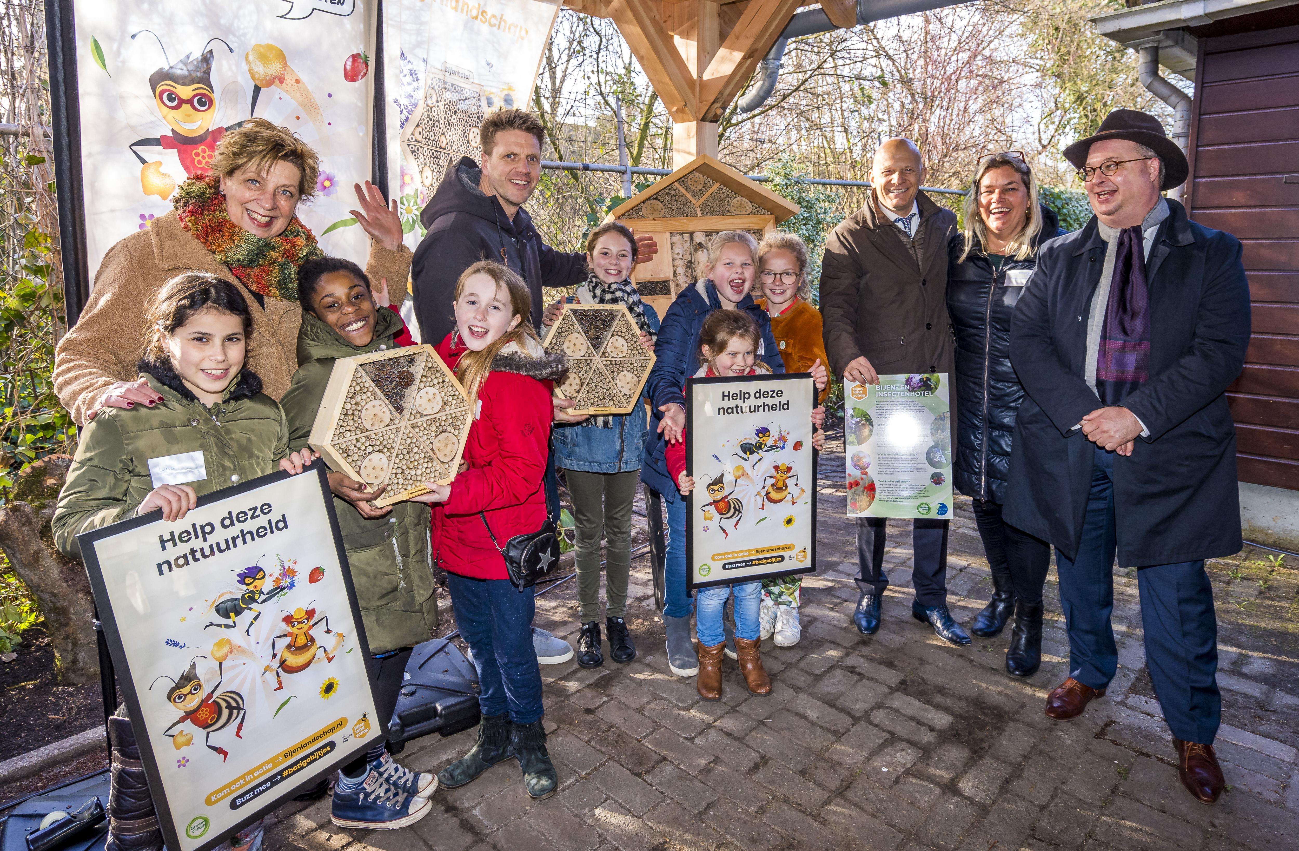 Vliegende start voor Zuid-Hollandse bijencampagne