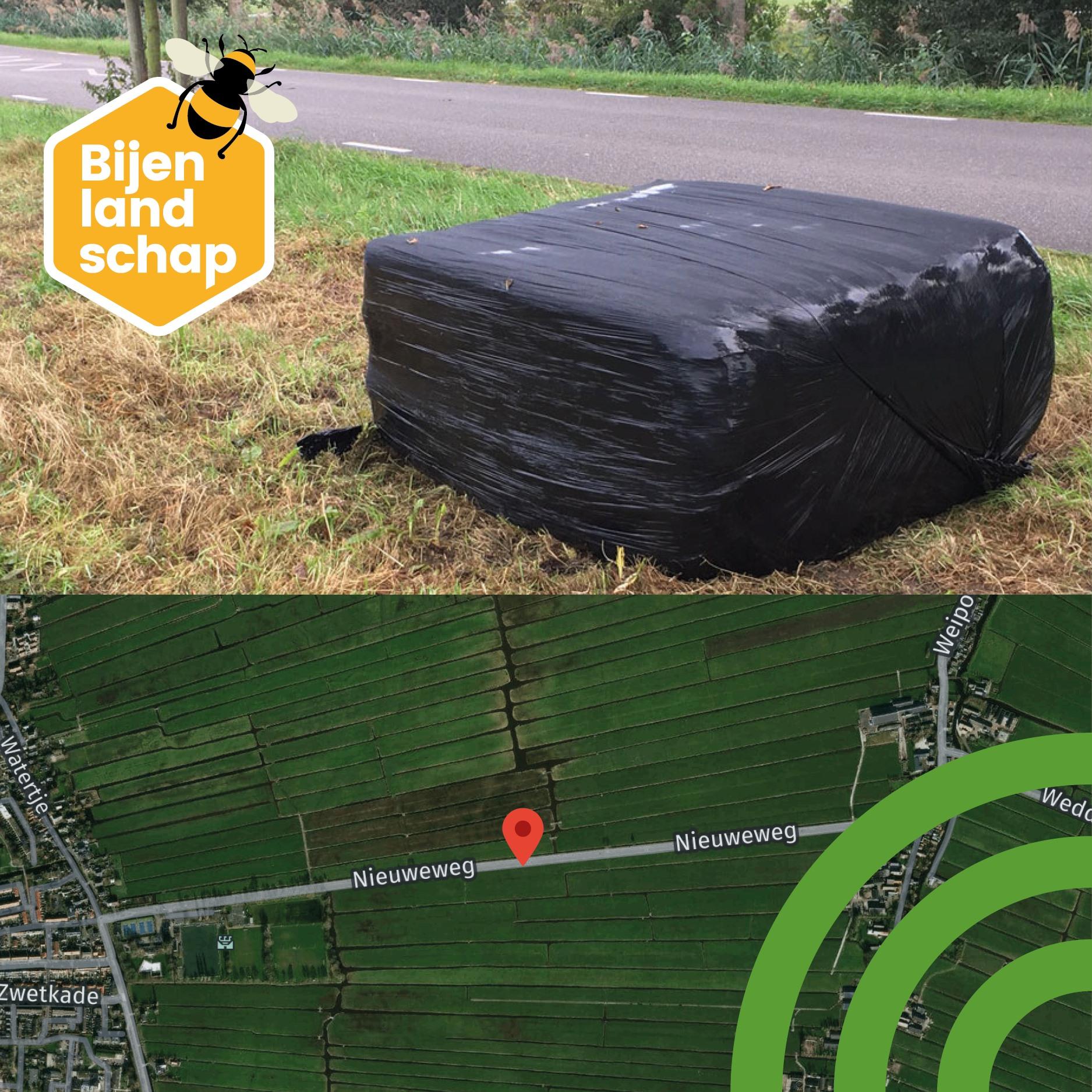 Update: Bijenlandschap-papier met bermmaaisel is op voorraad